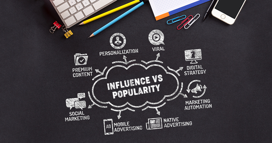 Influence Vs Popularity