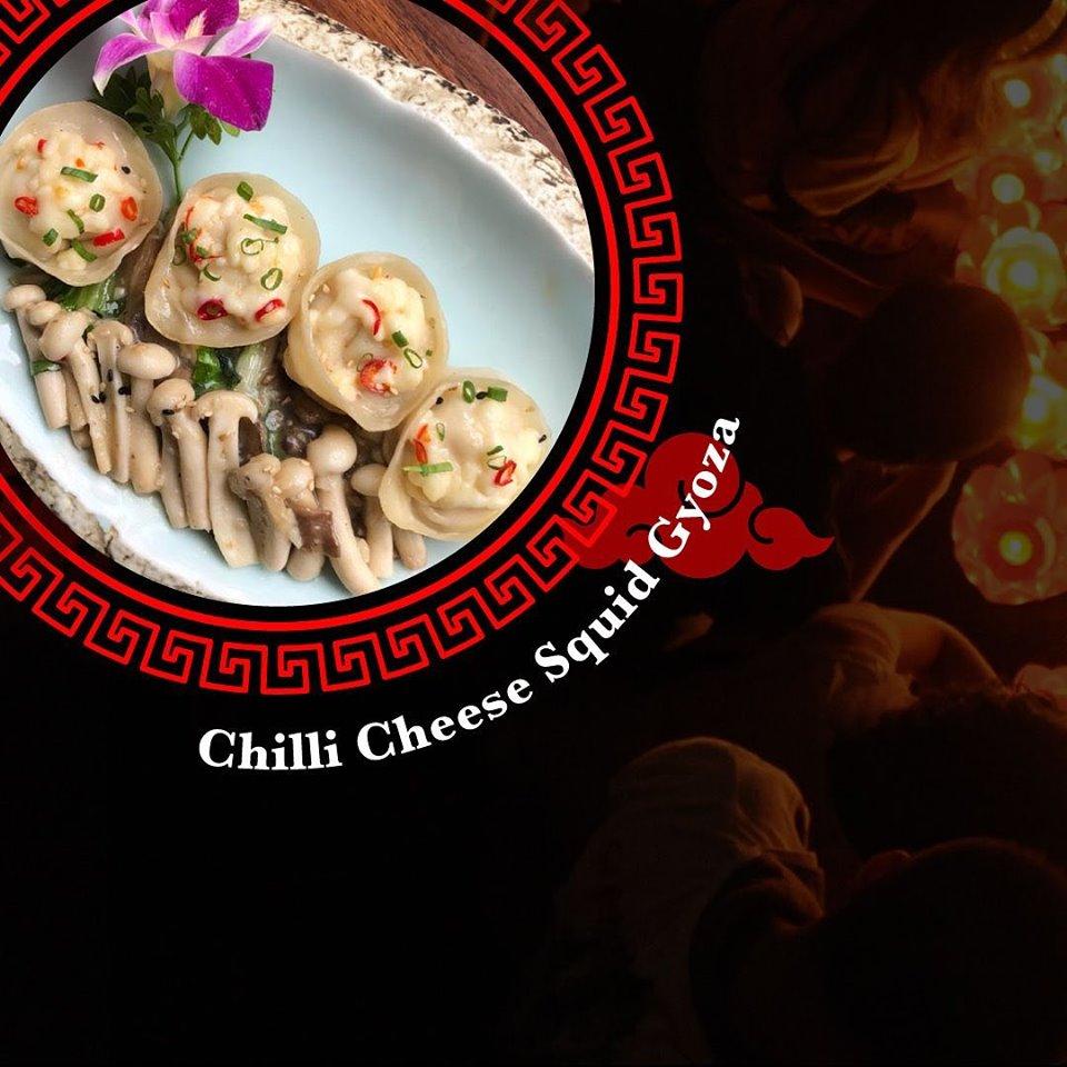 Keiba | Chilli Cheese Squid Gyoza